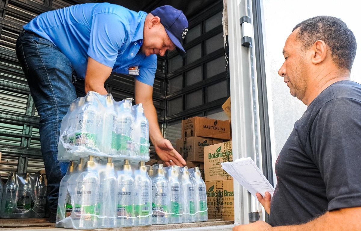 Imagem ilustrativa da notícia: Empresas Randon distribuirá frascos de álcool em gel