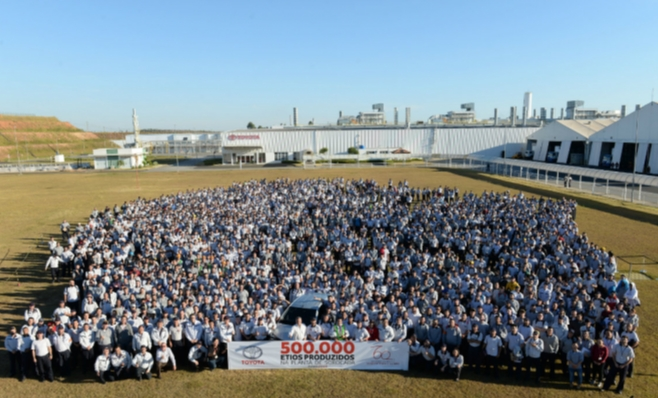 Imagem ilustrativa da notícia: Sorocaba produziu meio milhão de Etios