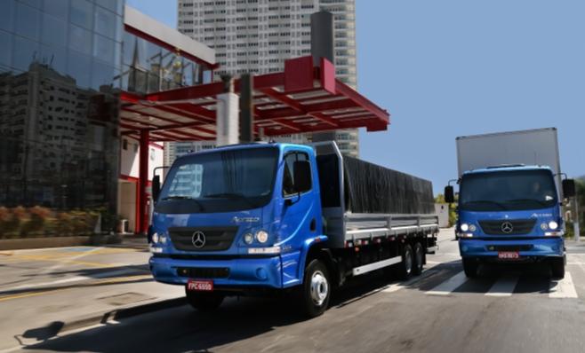 Imagem ilustrativa da notícia: Exportações de caminhões M-B crescem 37% no jan-mar