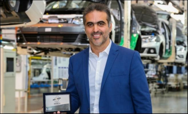 Imagem ilustrativa da notícia: Volkswagen recebe placa do Prêmio AutoData
