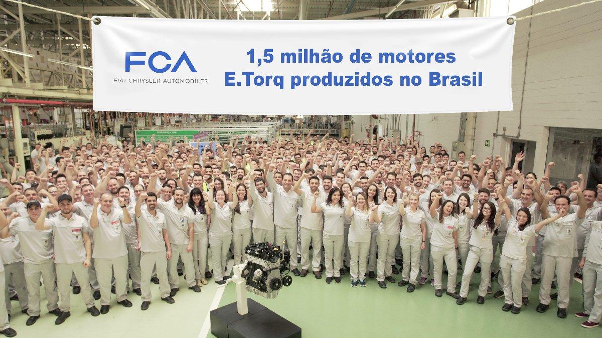 Imagem ilustrativa da notícia: FCA produziu 1,5 milhão de motores em Campo Largo