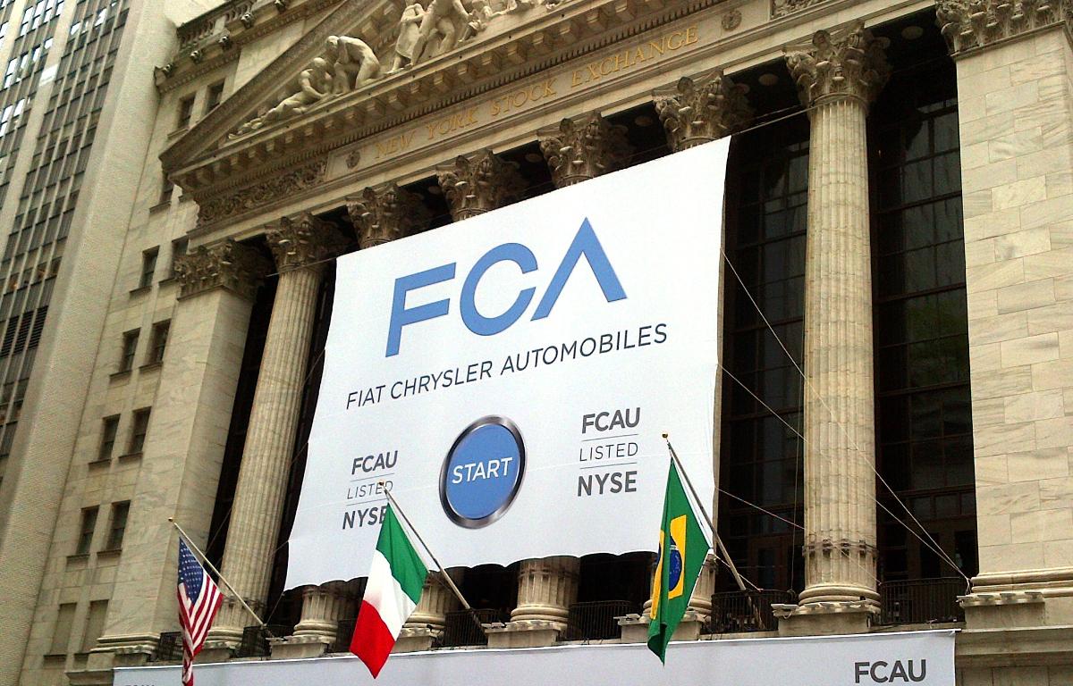 Imagem ilustrativa da notícia: FCA registra prejuízo de 1 bilhão de euro