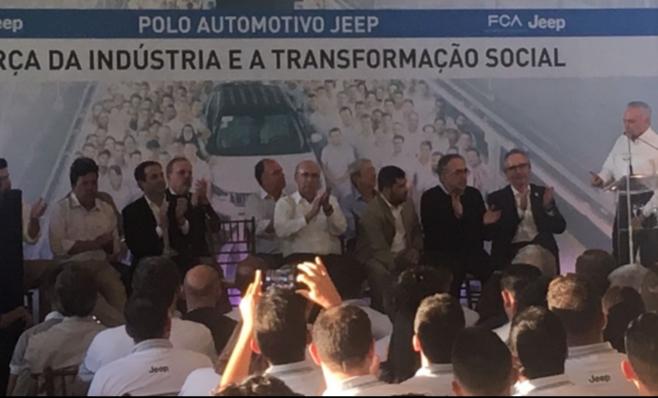 Imagem ilustrativa da notícia: Em anúncio de terceiro turno da FCA mandatário federal prorroga regime automotivo