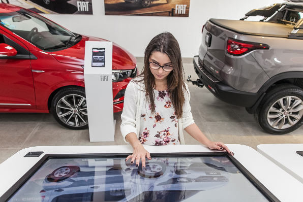Imagem ilustrativa da notícia: Fiat inaugura sua primeira concessionária digital
