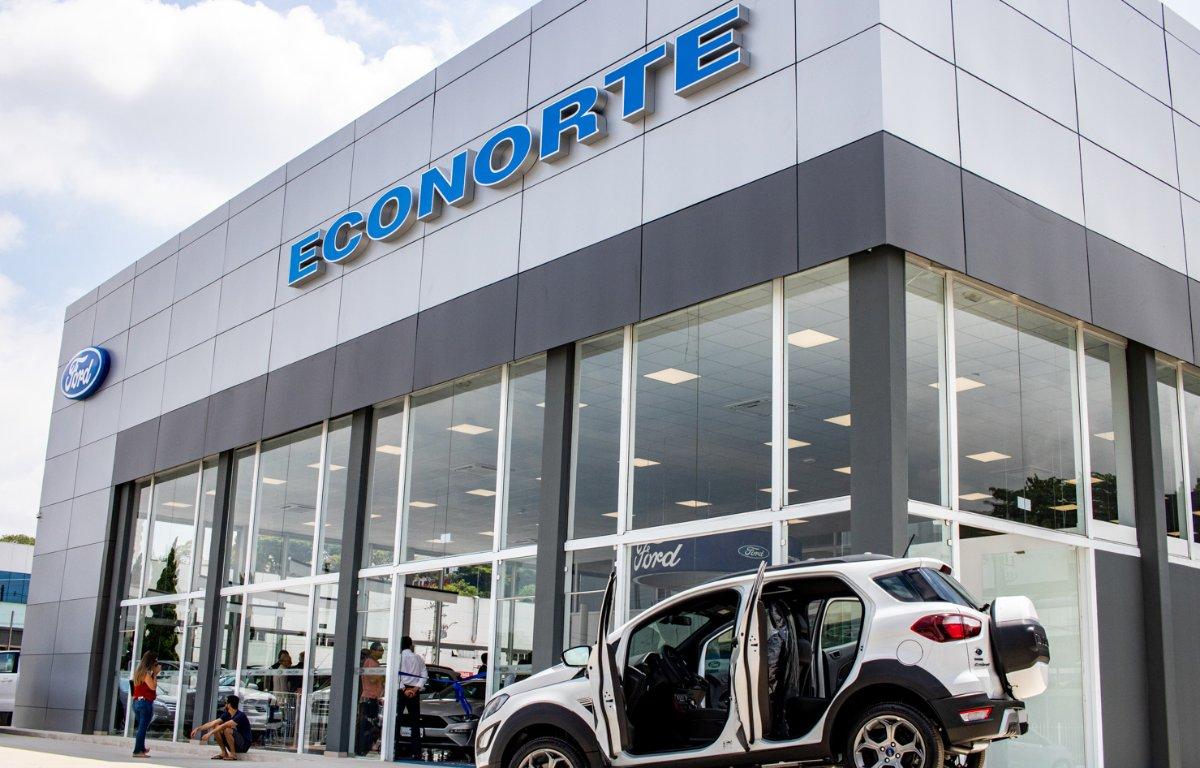 Imagem ilustrativa da notícia: Ford inaugura concessionária em São José dos Campos