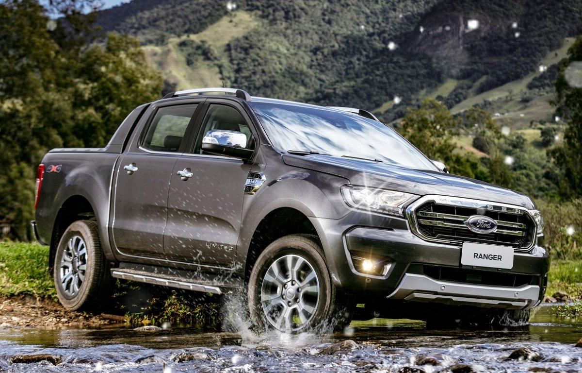 Imagem ilustrativa da notícia: Ford mostra sua Ranger 2020