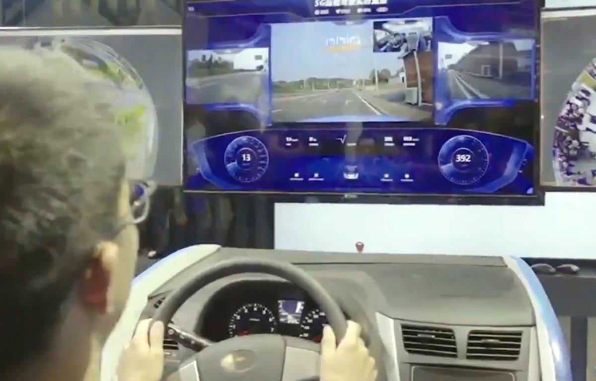 Imagem ilustrativa da notícia: Ford testa direção remota com internet 5G