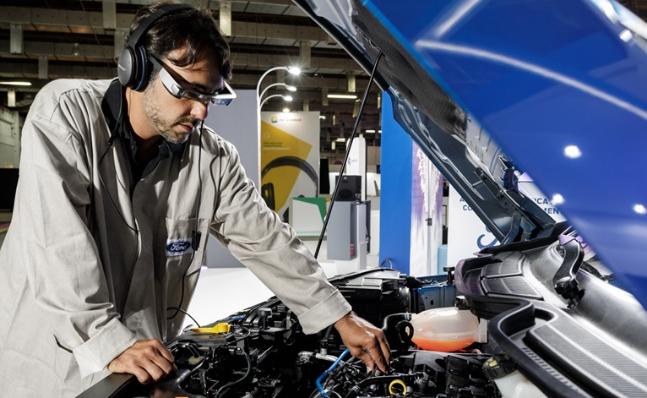 Imagem ilustrativa da notícia: Ford testará realidade aumentada no pós-venda