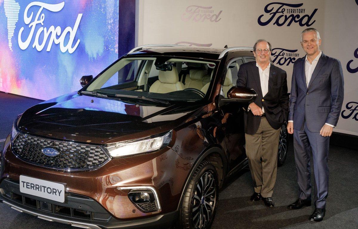 Imagem ilustrativa da notícia: Ford traz, da China, SUV Territory para Brasil e Argentina
