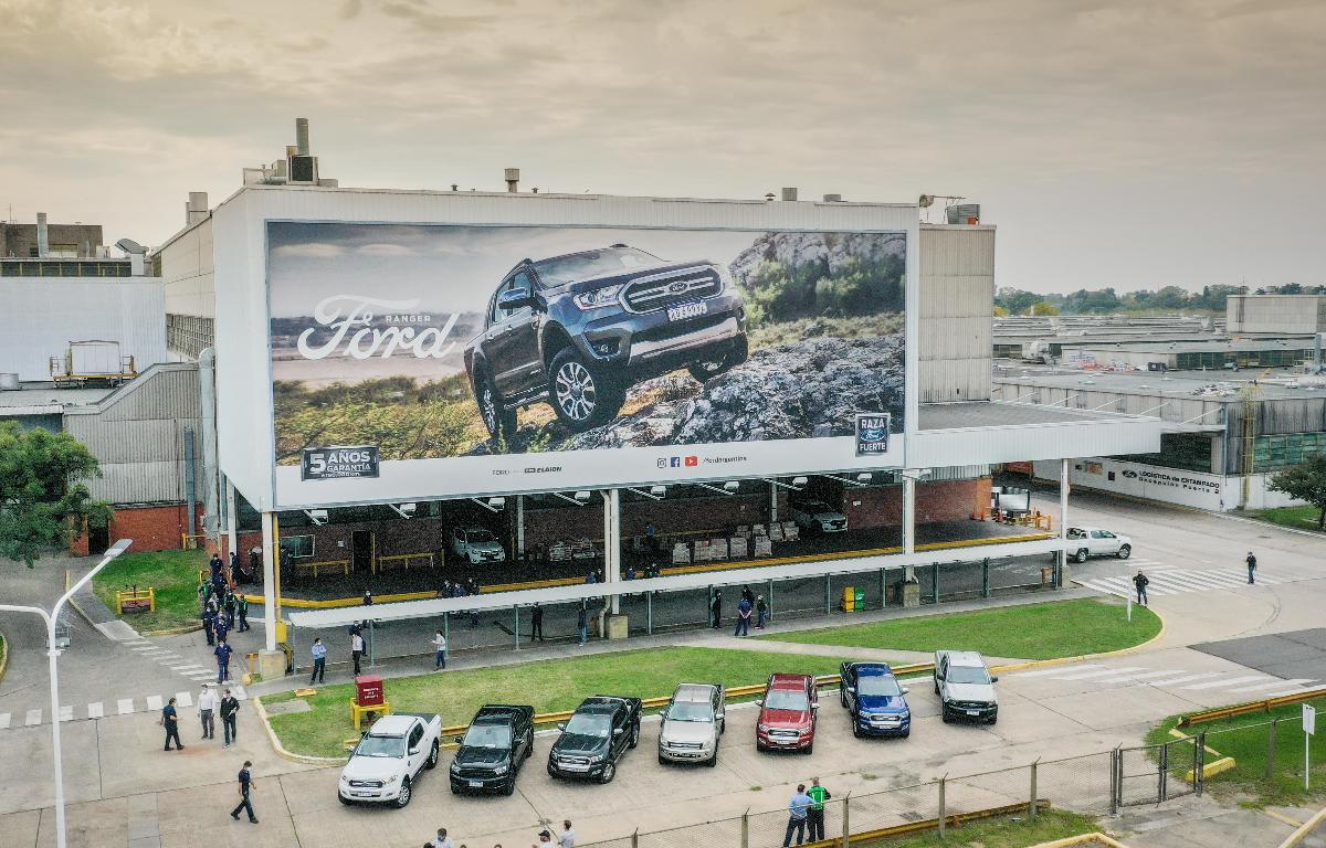 Imagem ilustrativa da notícia: Ford volta a produzir Ranger em Pacheco