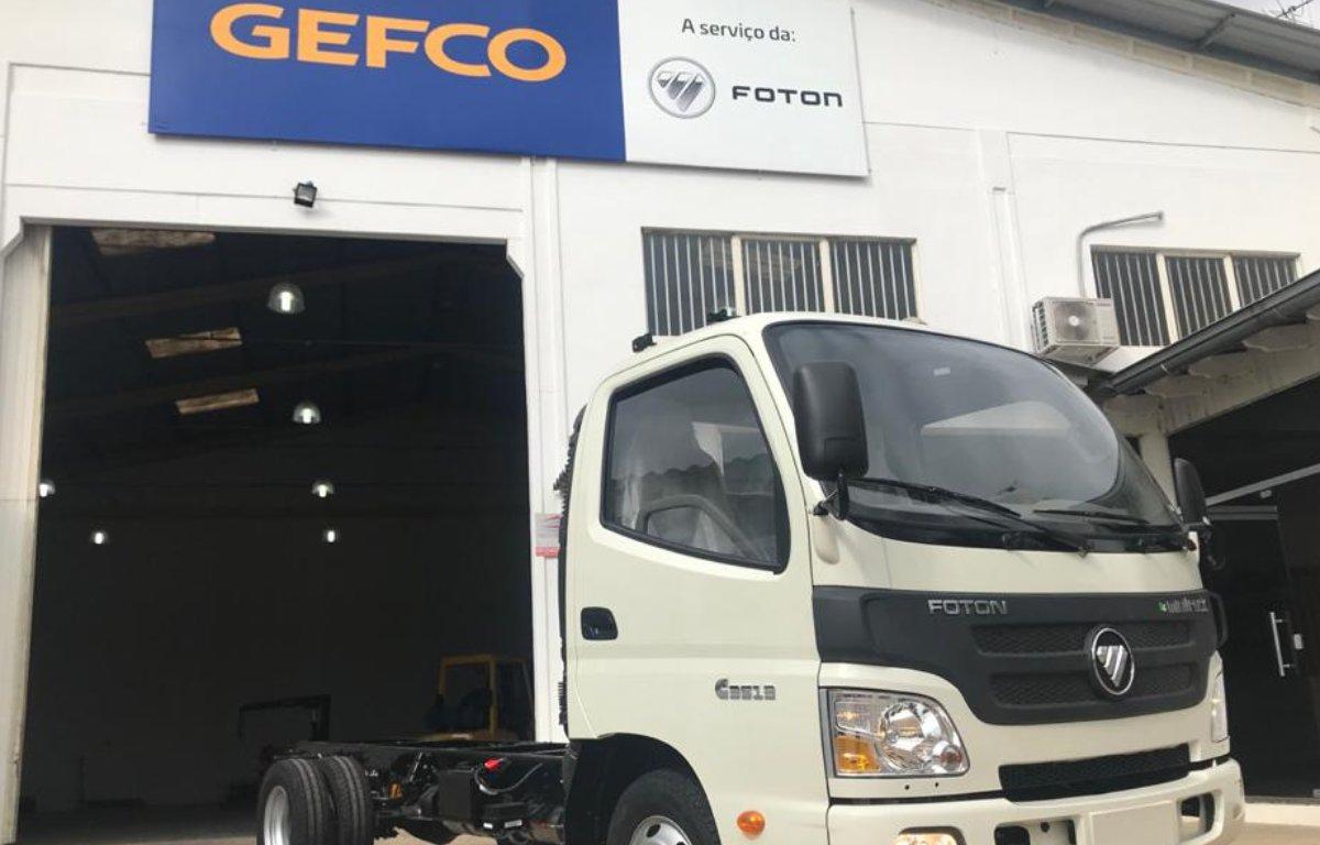 Imagem ilustrativa da notícia: Foton começa a montar caminhões na Gefco em Guaíba