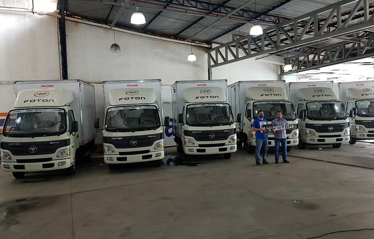 Imagem ilustrativa da notícia: Foton vende seis caminhões na Bahia