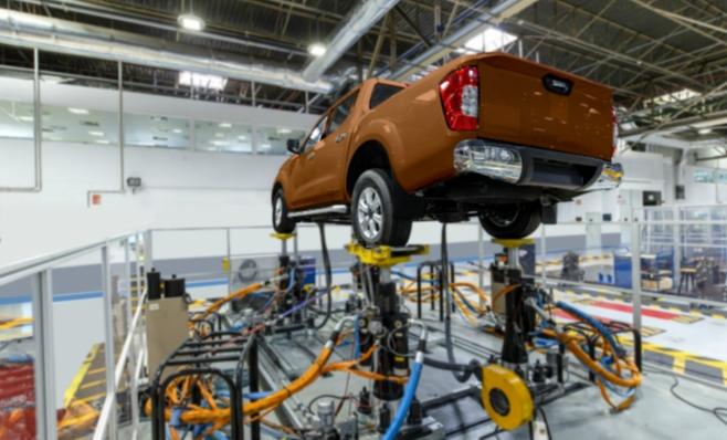 Imagem ilustrativa da notícia: Nissan Frontier entra na fase final de pré-produção