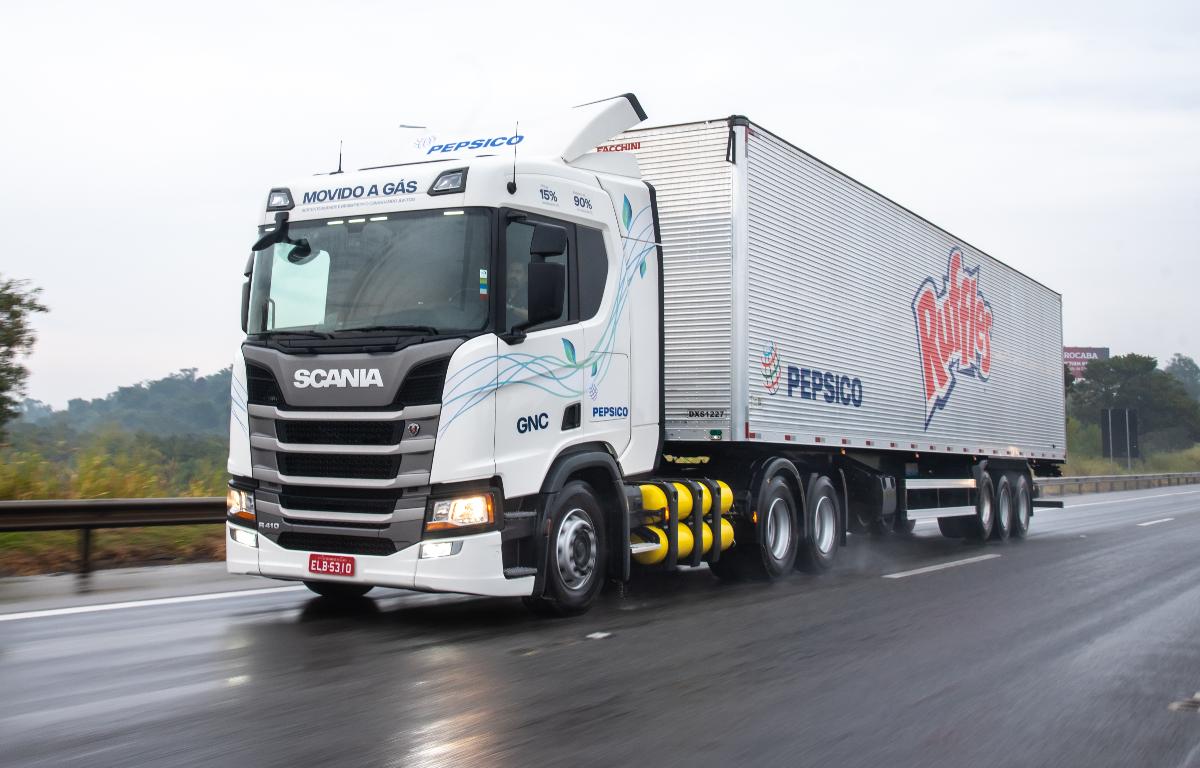 Imagem ilustrativa da notícia: Gás natural abre outras portas à Scania no País