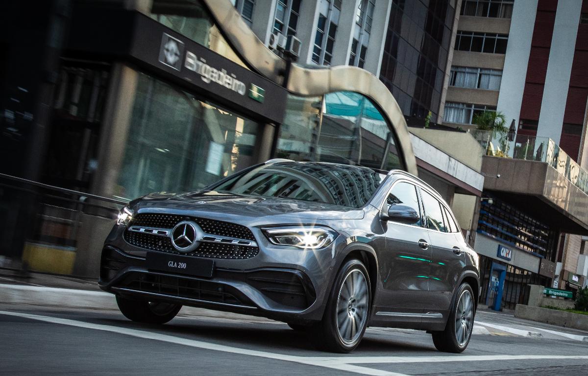 Imagem ilustrativa da notícia: GLA completa linha de SUVs da Mercedes-Benz no Brasil