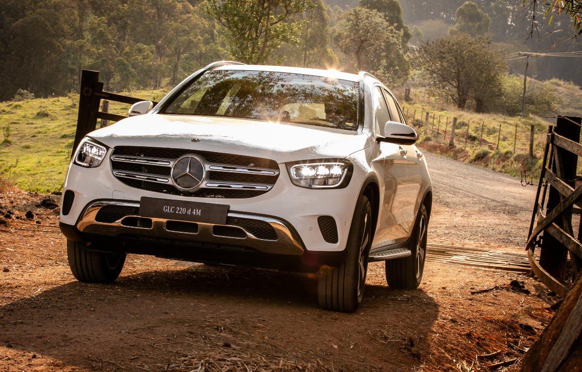 Imagem ilustrativa da notícia: Dois SUVs GLC são as novidades da Mercedes-Benz