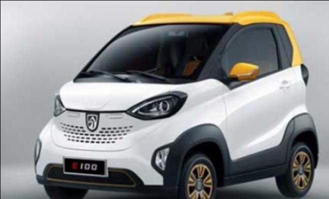 Imagem ilustrativa da notícia: Bajoun 100 é o primeiro elétrico GM na China
