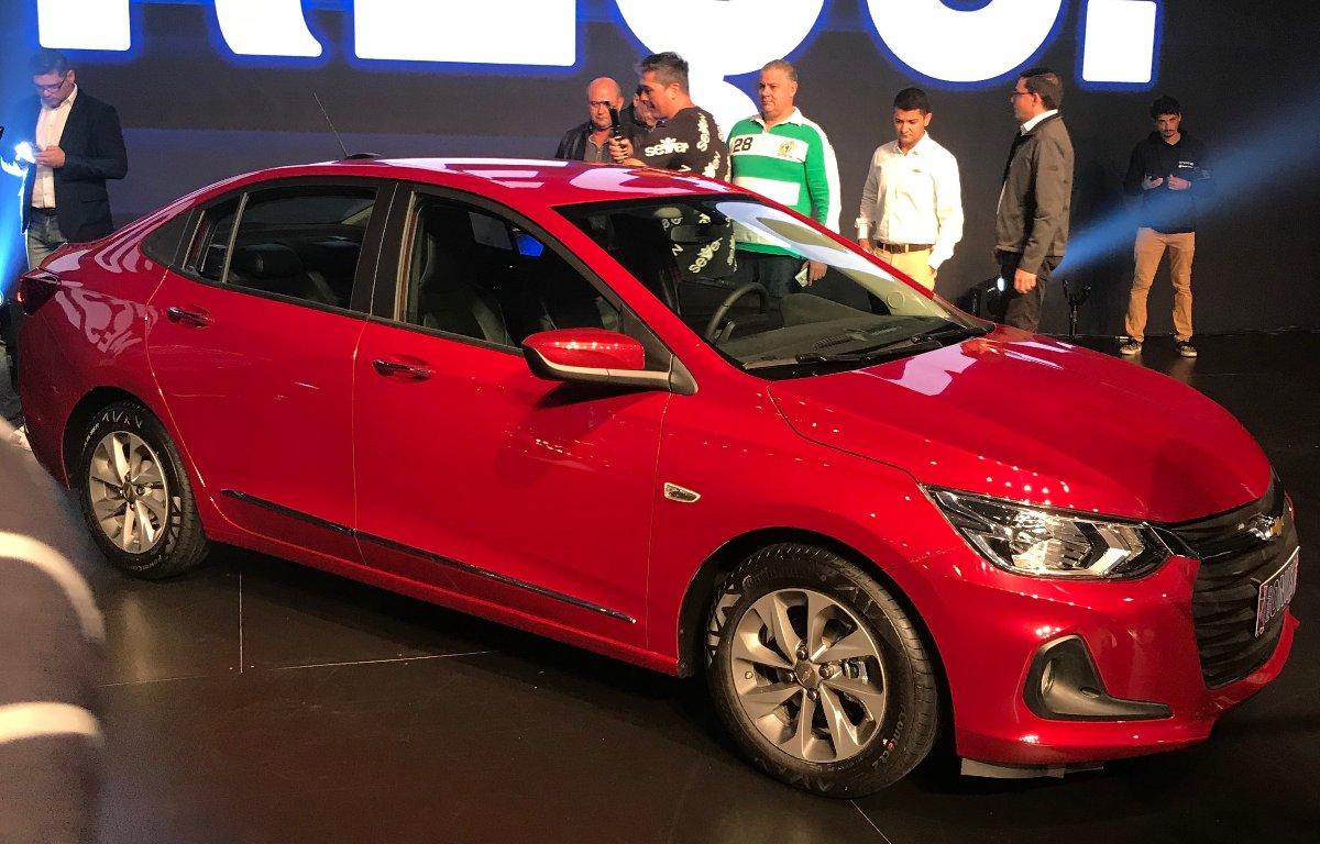 Imagem ilustrativa da notícia: GM mantém preços na nova geração do Onix