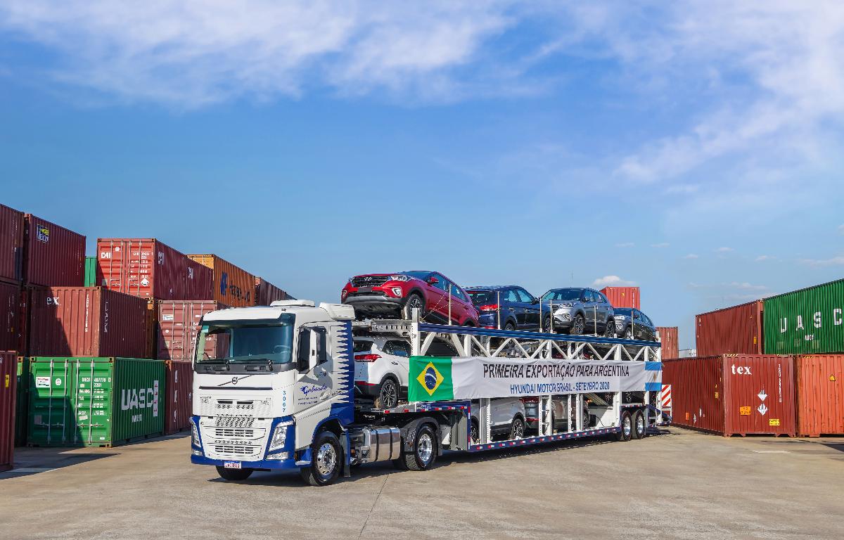 Imagem ilustrativa da notícia: Governos autorizam e Hyundai exportará Creta para a Argentina