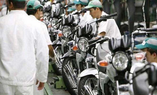 Imagem ilustrativa da notícia: De 10,7% é a expansão da produção de motos