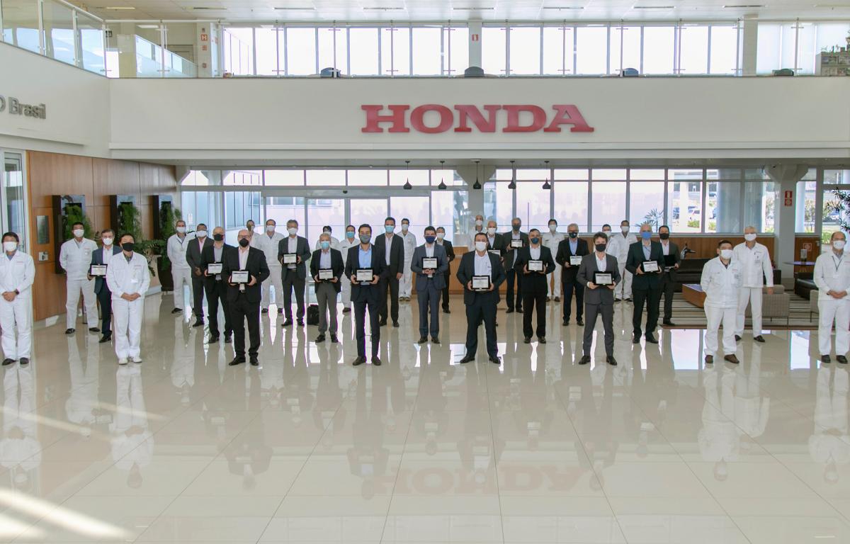 Imagem ilustrativa da notícia: Honda Automóveis premia seus fornecedores