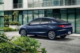 Imagem ilustrativa da notícia: Hyundai agora mostra o HB20S por inteiro