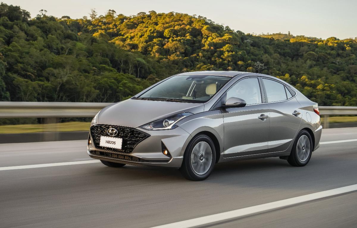 Imagem ilustrativa da notícia: Hyundai apresenta linha 2021 do HB20 1.0 turbo
