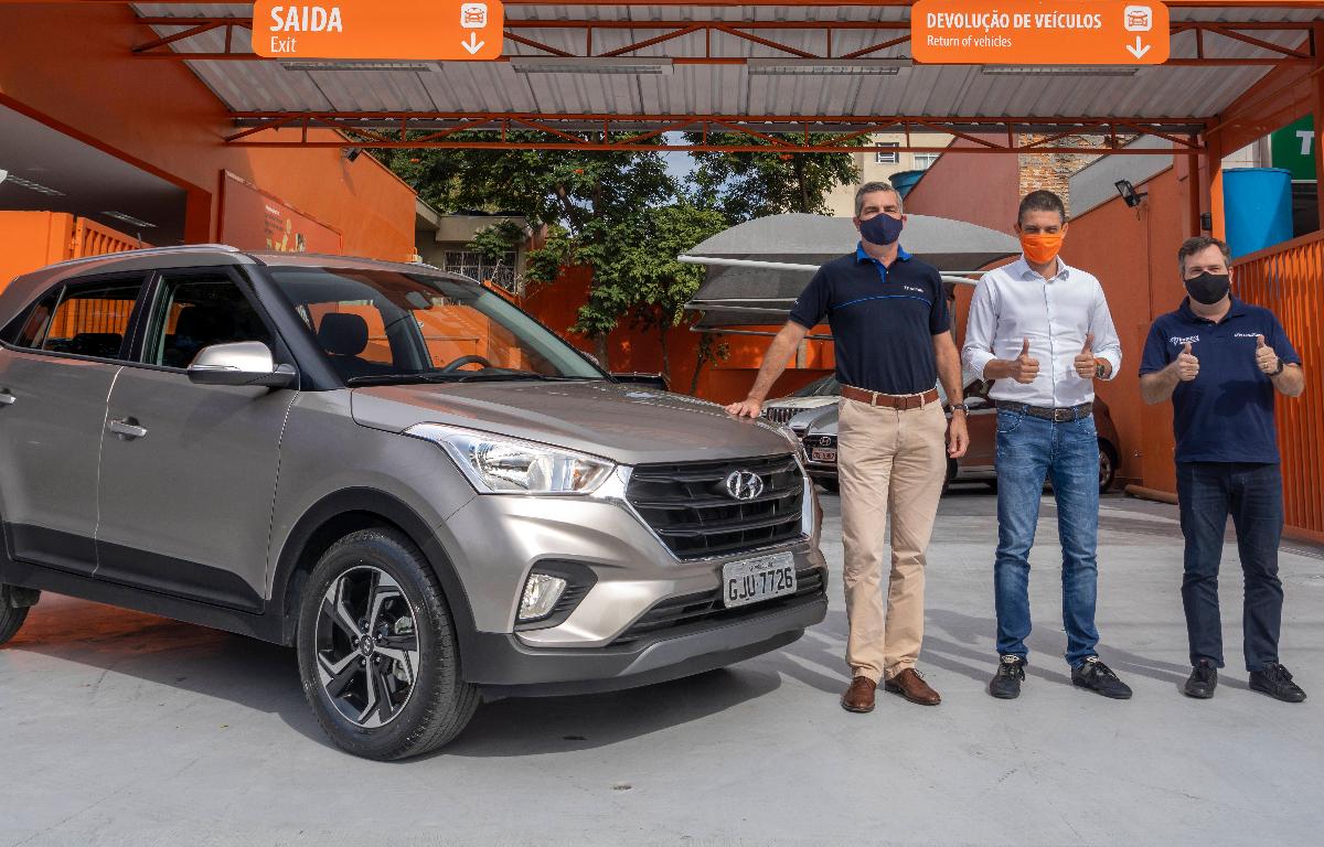 Imagem ilustrativa da notícia: Hyundai entrega lote de Creta à Movida