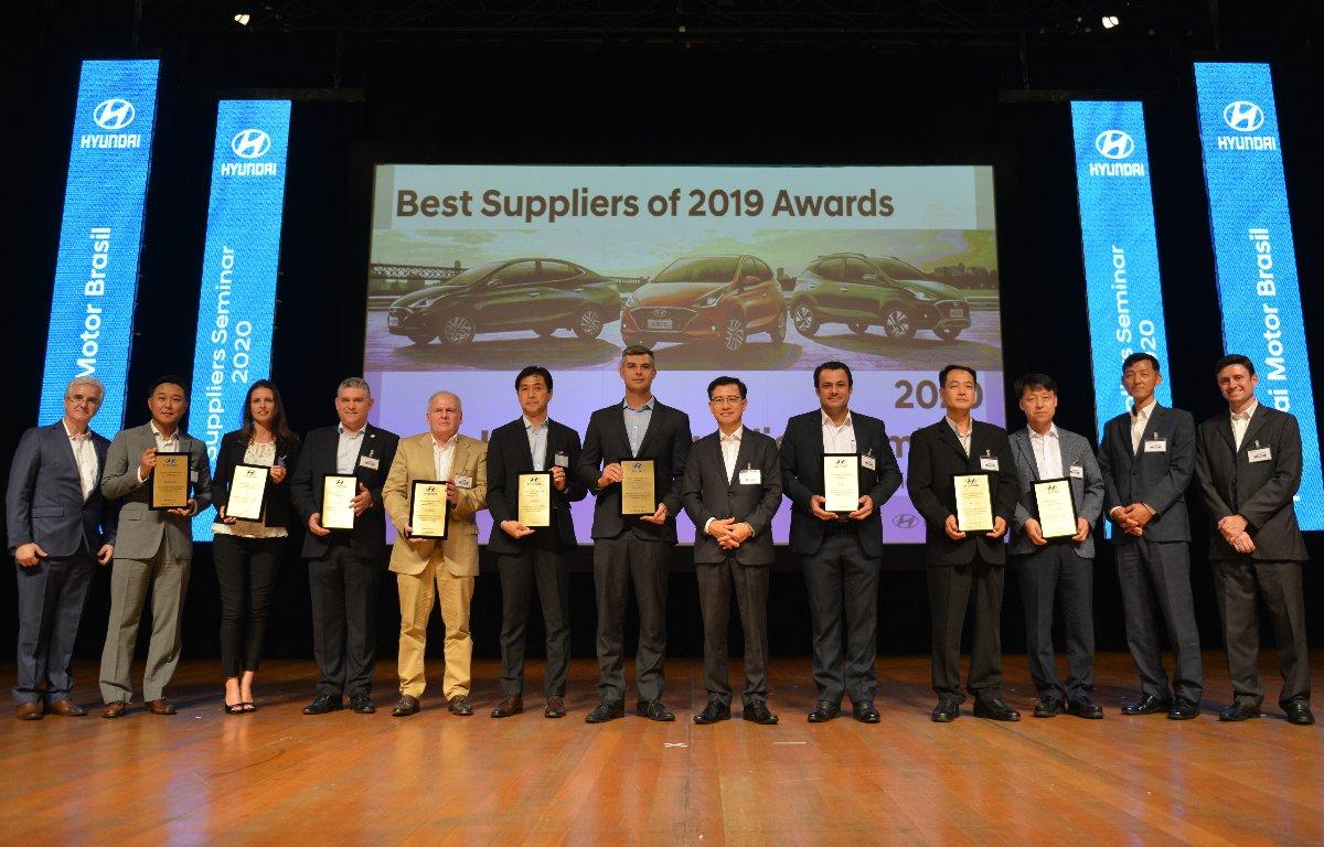 Imagem ilustrativa da notícia: Hyundai premia fornecedores em Piracicaba