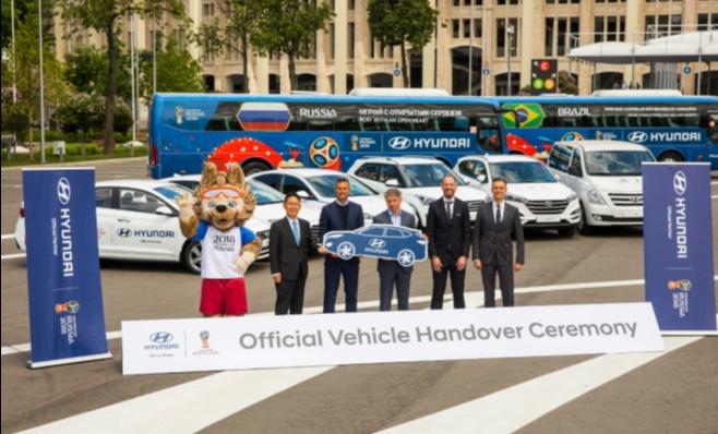 Imagem ilustrativa da notícia: Hyundai e Kia entregam frota da Copa da Rússia