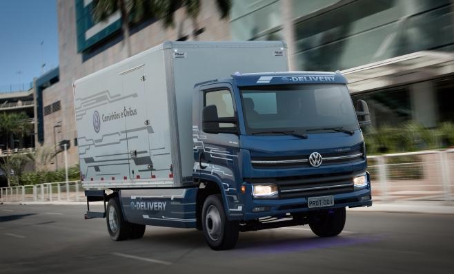 Imagem ilustrativa da notícia: Caminhão elétrico MAN será testado pela Ambev