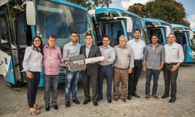 Imagem ilustrativa da notícia: Iveco vende vinte ônibus rodoviários à Litoral Norte