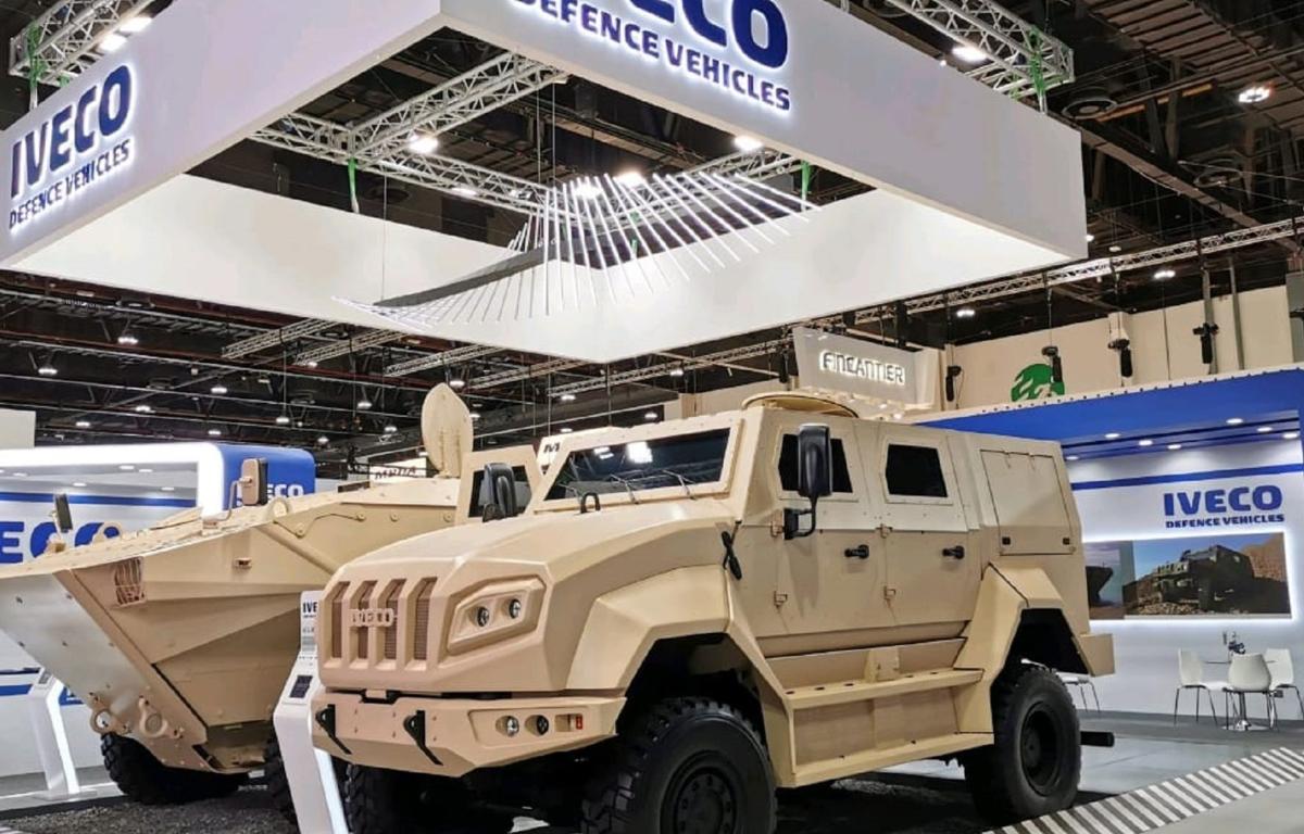 Imagem ilustrativa da notícia: Iveco Defesa participa da IDEX 2021, em Abu Dhabi