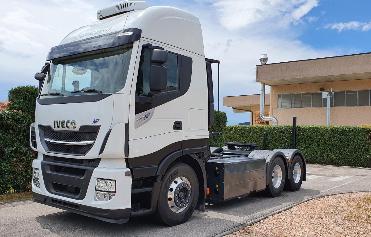 Imagem ilustrativa da notícia: Iveco vende 100 caminhões movidos a gás na Argentina