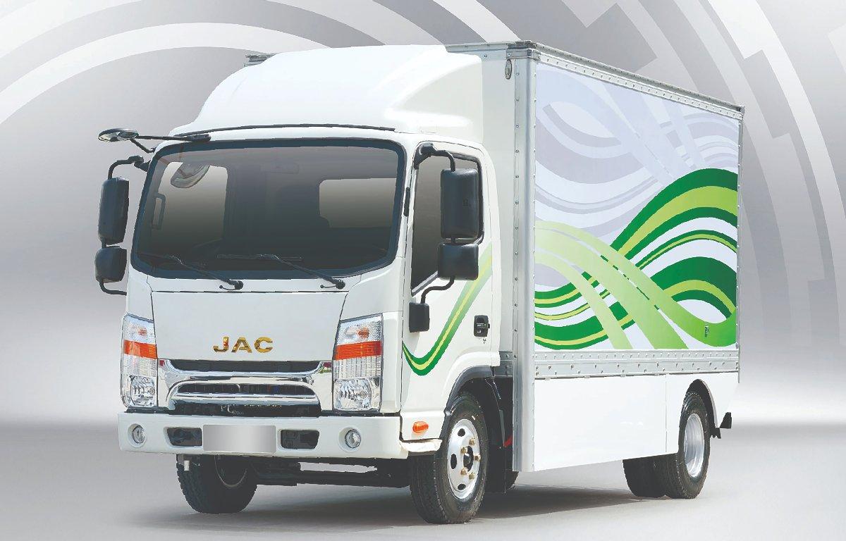 Imagem ilustrativa da notícia: Jac Motors terá caminhão elétrico no Brasil