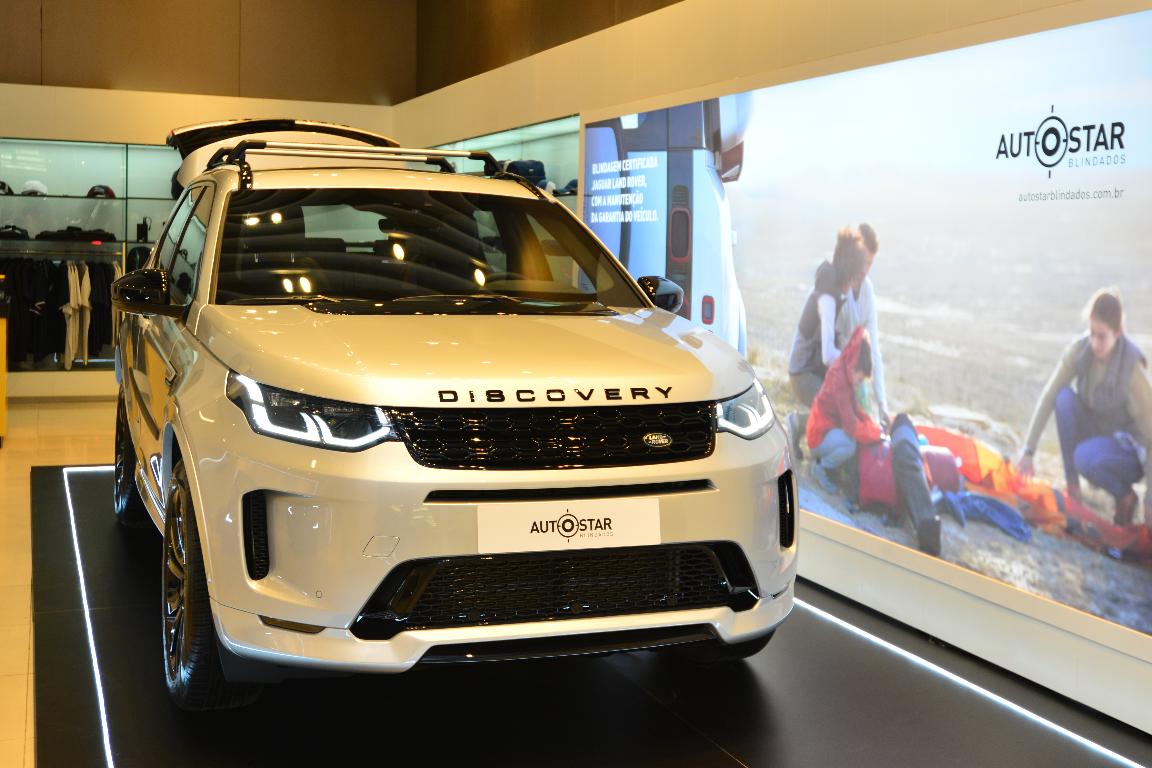 Imagem ilustrativa da notícia: Jaguar Land Rover expõe veículos no Shopping Iguatemi