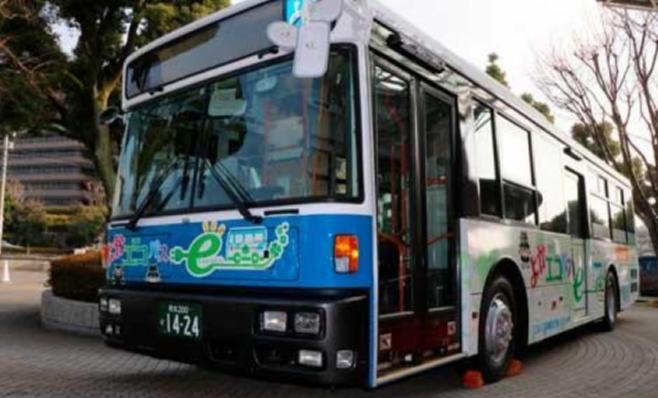 Imagem ilustrativa da notícia: Tecnologia Nissan é testada em ônibus elétricos no Japão