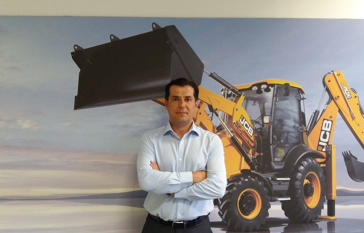 Imagem ilustrativa da notícia: JCB anuncia novo diretor de pós-vendas