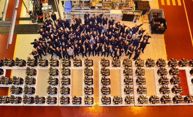 Imagem ilustrativa da notícia: JCB atinge a produção de 500 mil motores no mundo