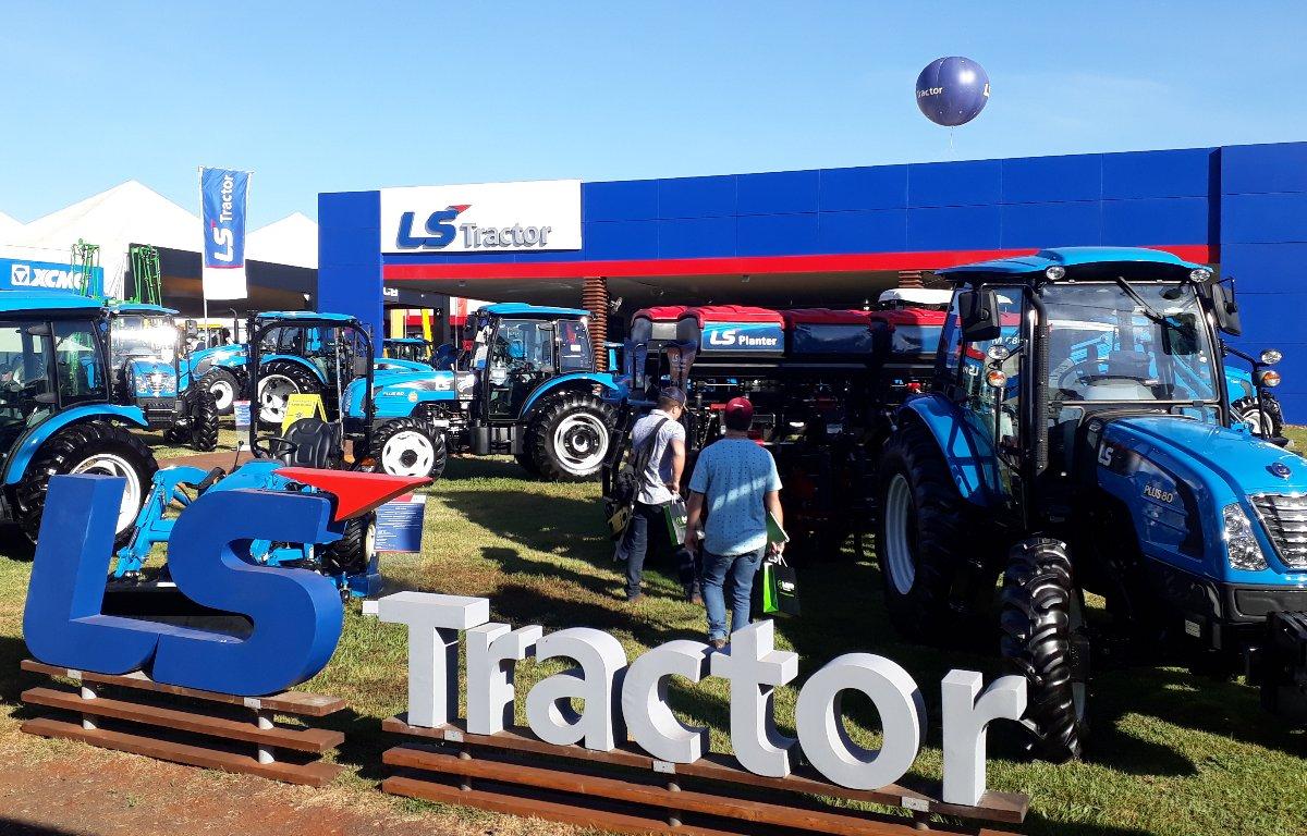 Imagem ilustrativa da notícia: LS Tractor projeta boas vendas na Agrishow