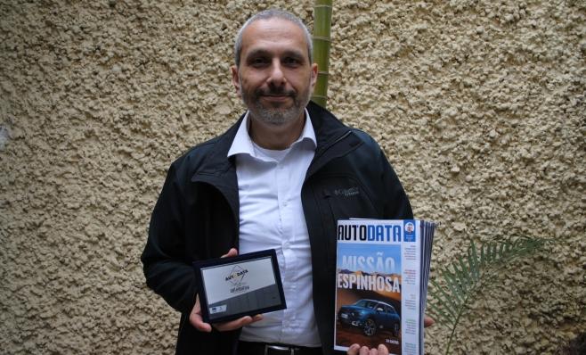 Imagem ilustrativa da notícia: Dana recebe placa do Prêmio AutoData