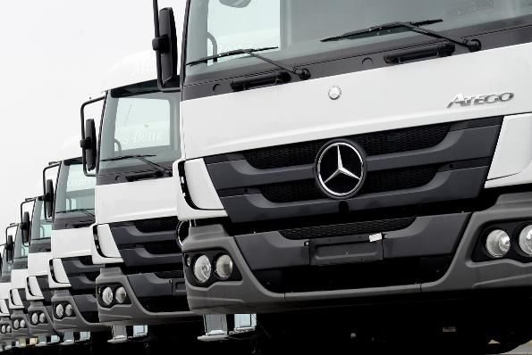 Imagem ilustrativa da notícia: M-B vende vinte caminhões para o Haiti