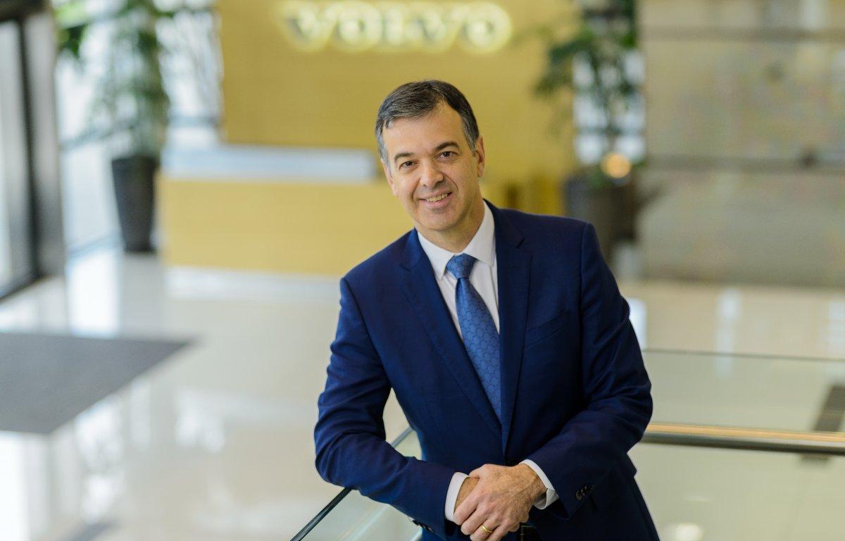 Imagem ilustrativa da notícia: Márcio Pedroso nomeado presidente global da Volvo Financial Services