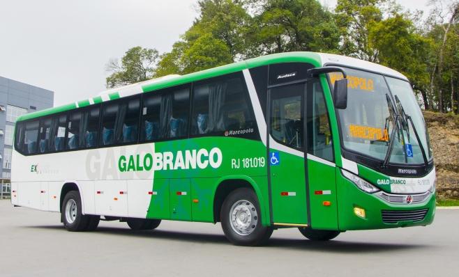 Imagem ilustrativa da notícia: Marcopolo vende dez ônibus para Viação Galo Branco