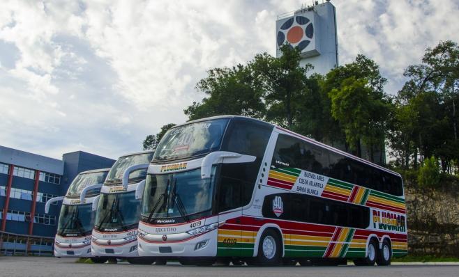 Imagem ilustrativa da notícia: Marcopolo vende 40 ônibus para a Plusmar