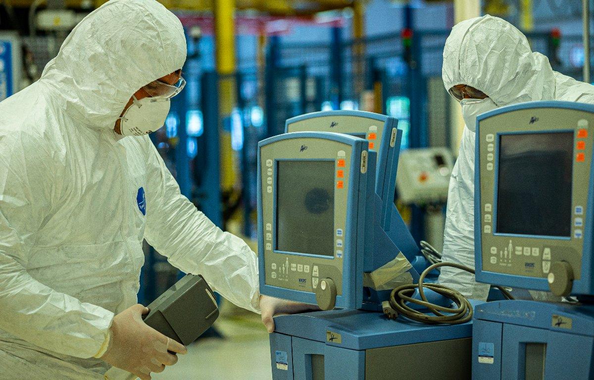 Imagem ilustrativa da notícia: Doria pede à indústria ajuda com a produção de respiradores