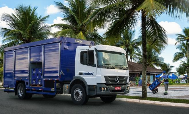Imagem ilustrativa da notícia: Mercedes-Benz vende 228 caminhões à Ambev