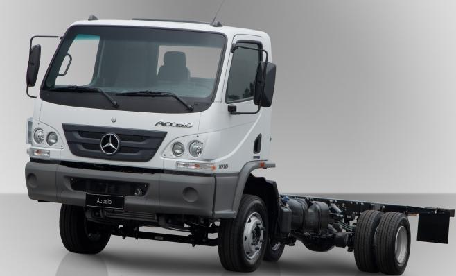 Imagem ilustrativa da notícia: Caminhões brancos são 85% das vendas Mercedes-Benz
