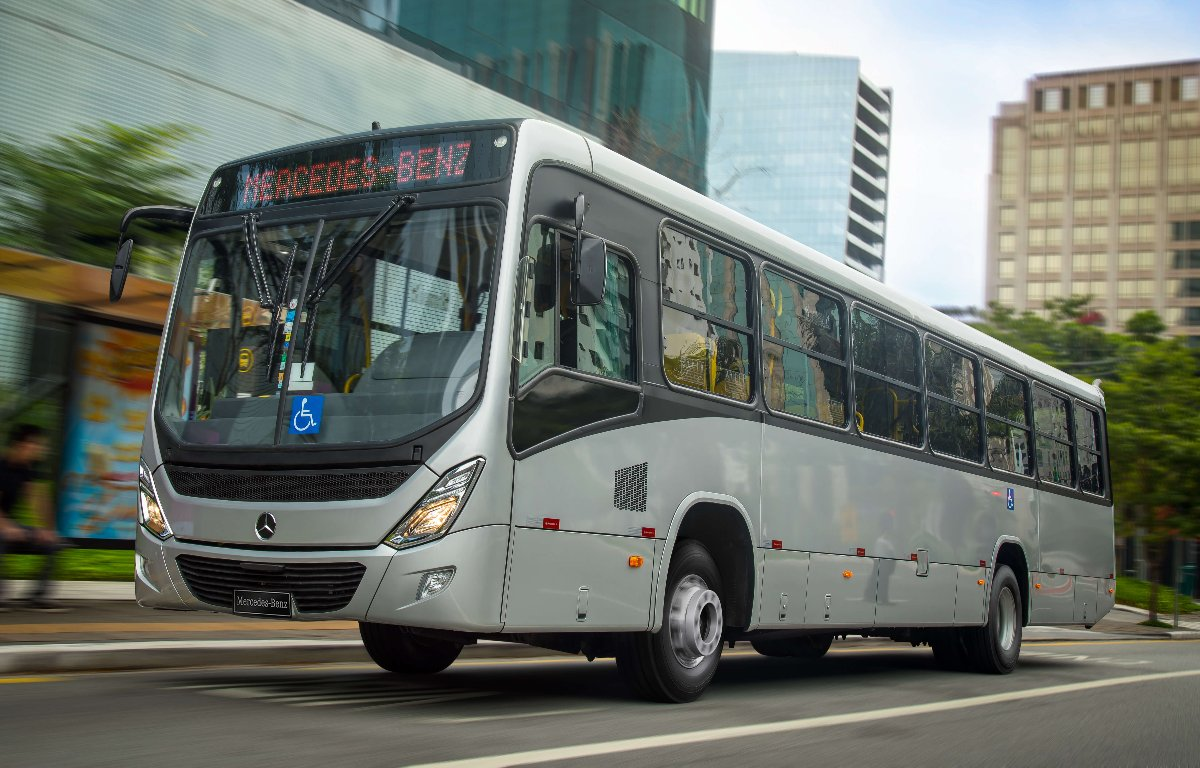 Imagem ilustrativa da notícia: Mercedes-Benz vende 590 ônibus ao Distrito Federal