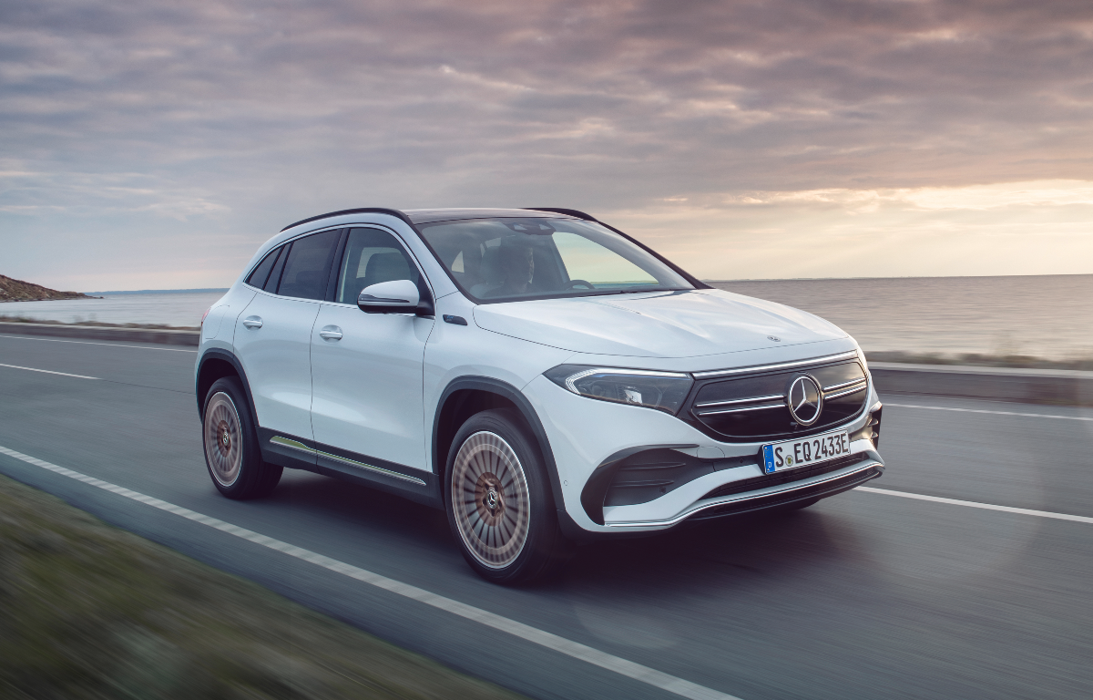 Imagem ilustrativa da notícia: Mercedes-Benz EQA 250, elétrico, chegará em 2022